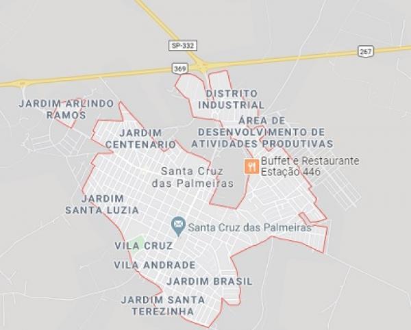 Terreno Santa Cruz das Palmeiras - SP (224,90m²)